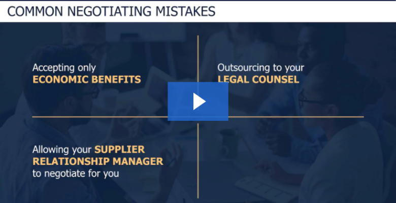 Common Negotiating Mistakes Bankers Make